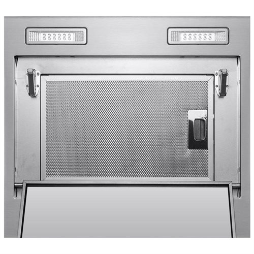 """36"""" Stainless Steel Island Mount Range Hood Touch Screen Cooking Fan Stove Kitchen Vents 2"""