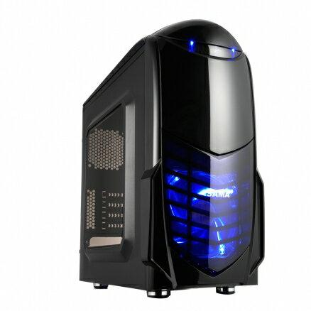 SAMA 先馬 SAM005 B  小海鯊 電腦機殼 PC機殼 電競機殼~迪特軍~