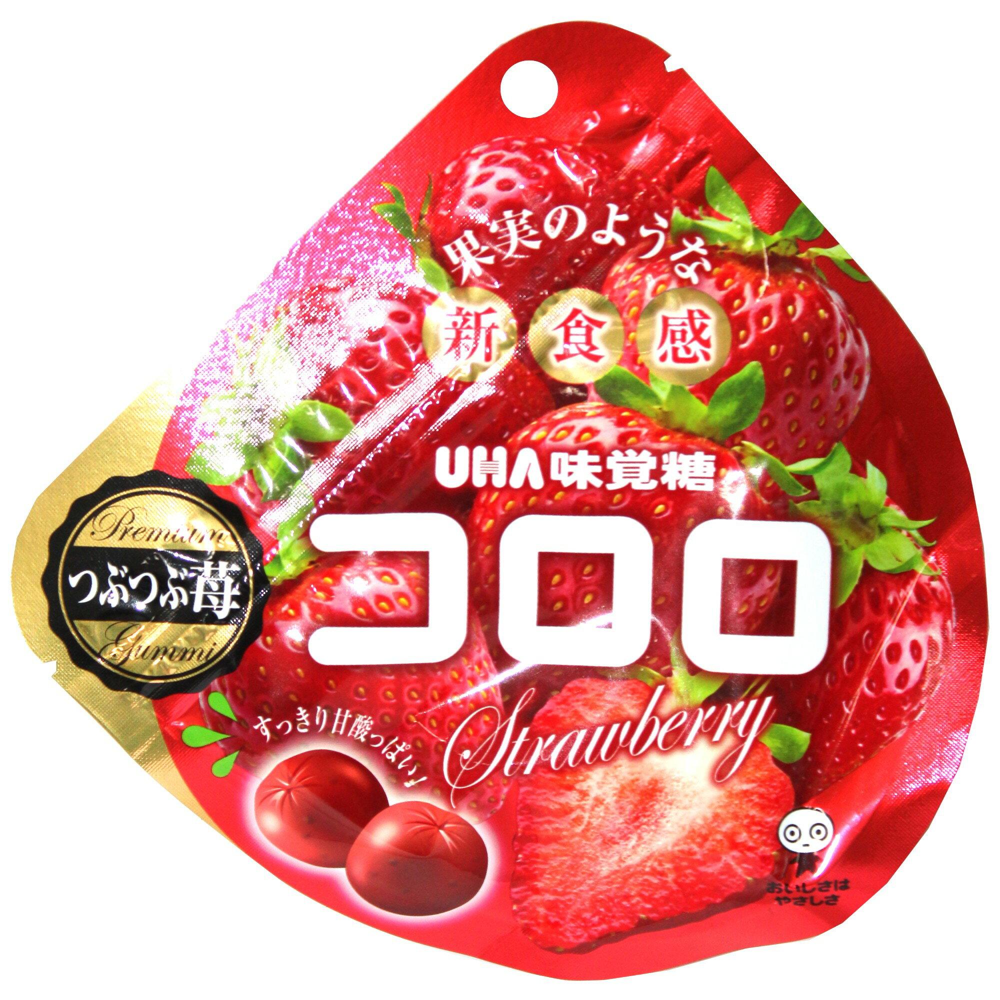 UHA 味覺糖 Kororo 可洛洛草莓Q糖 40g