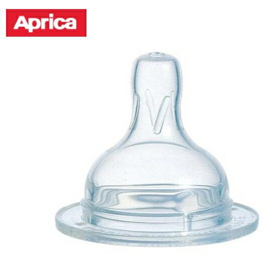 便宜出清 APRICA寬口徑氣流式矽膠奶嘴 S/M