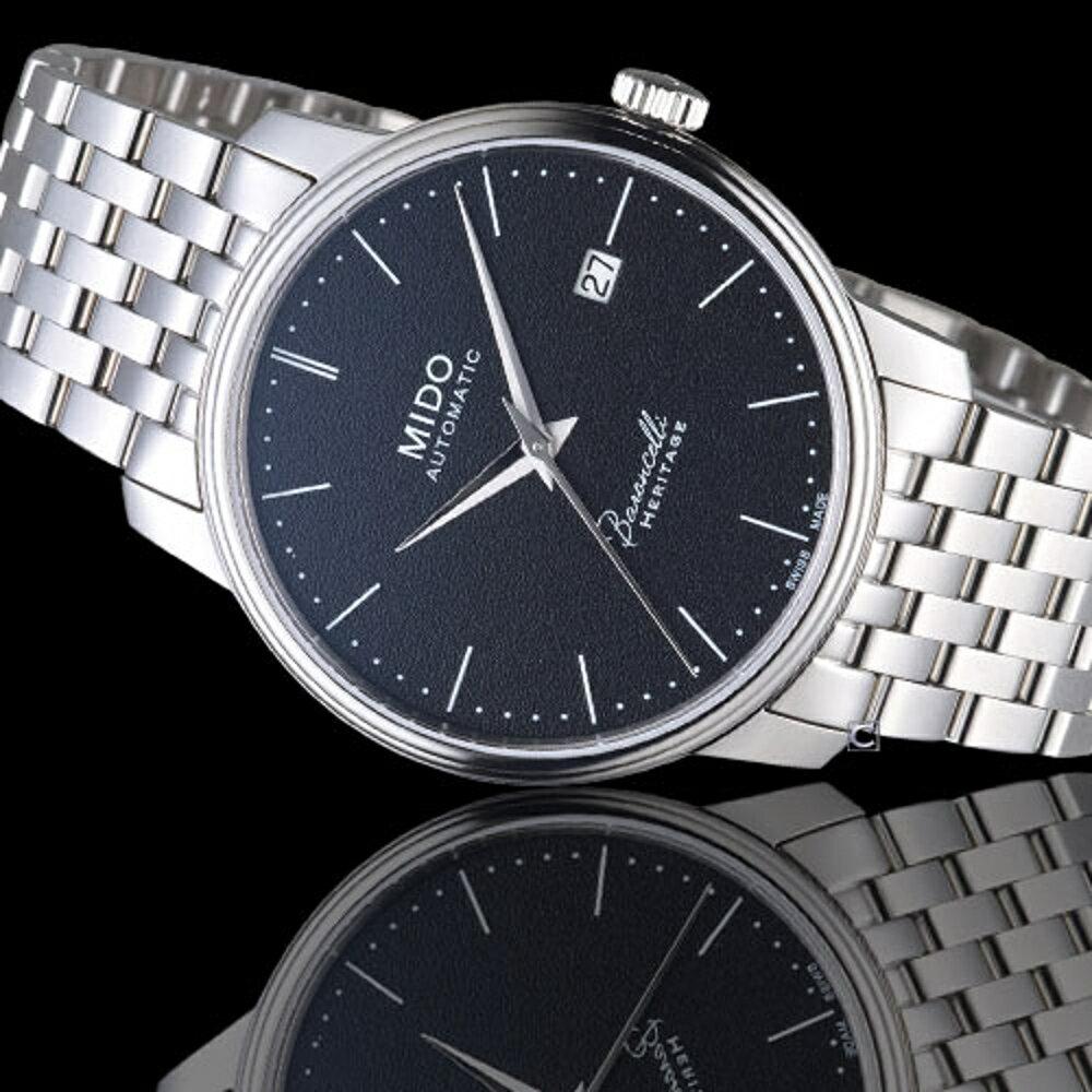MIDO美度錶 BARONCELLI 永恆系列 III簡約俐落腕錶  M0274071105000