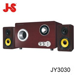 JS 淇譽 JY3030 三件式 50W 2.1聲道阿波羅多媒體喇叭