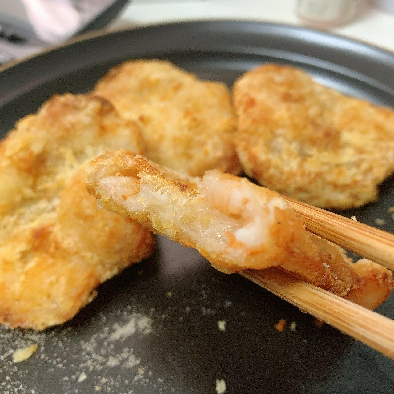 【易特生鮮】真材實料花枝蝦排(300g/包)➤宏裕行大廠,熱銷商品