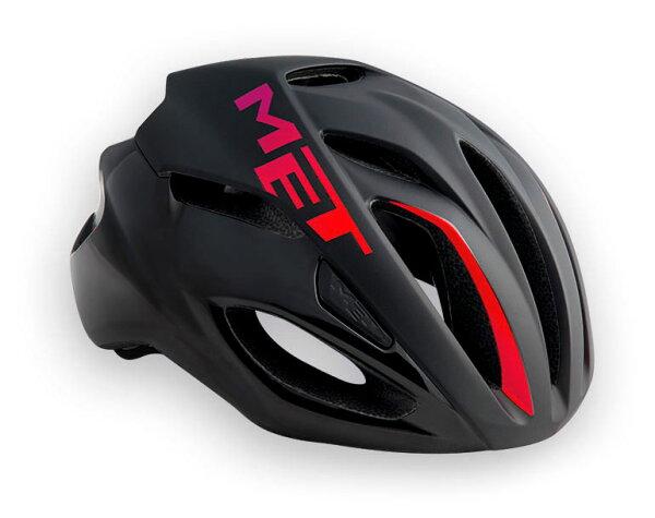 【7號公園自行車】Met2017RIVAL專業級空氣動力帽(黑漸層紅)