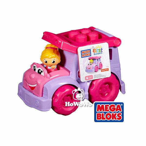 MEGA BLOKS 美高費雪積木兒童玩具 - 校車芮茜 804401