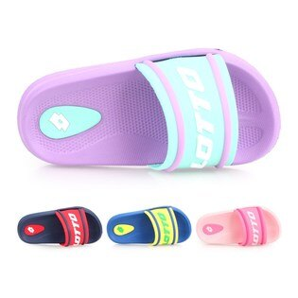 LOTTO男女兒童SummerPlay輕量拖鞋(戲水海邊海灘【02020064】≡排汗專家≡