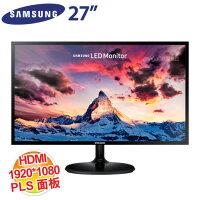 Samsung 三星到SAMSUNG 27吋 S27F350FHE/PLS LED/HDMI+D-SUB(極薄機身/AMD FreeSync/低藍光/零閃屏)