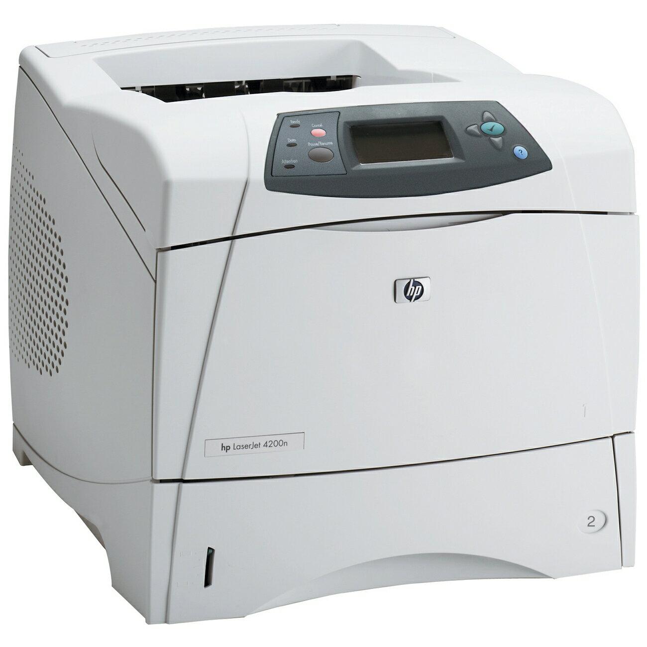 HP LaserJet 4200N Laser Printer - Monochrome - 35 ppm Mono Print 0