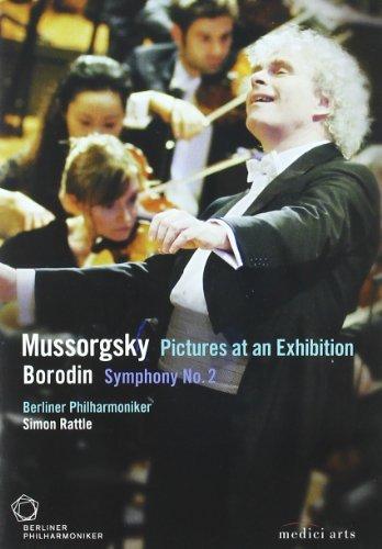 Berliner Philharmonic/Simon Rattle: Mussorgsky - Pictures at an Exhibition/Borodin - Symphony No. 2 0d3549a72f1eb55909c2c7ff7b819350