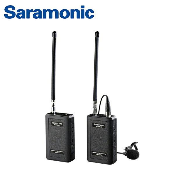 ◎相機專家◎Saramonic1對1VHF無線麥克風系統SR-WM4C相機手機可支援4個頻道公司貨