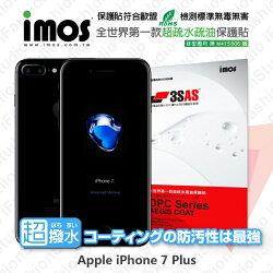 【愛瘋潮】99免運 Apple iPhone 7 Plus / iPhone 8 Plus (5.5吋) iMOS 3SAS 疏水疏油系列 螢幕保護貼