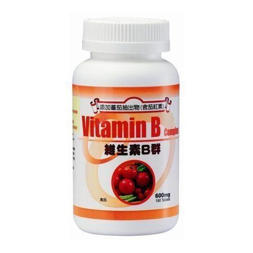 三多維生素B群(茄紅素Plus)(180錠/盒)