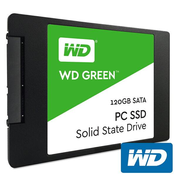 JT3C:【最高折$350】WD綠標120GBWDS120G1G0ASSD2.5吋固態硬碟Green120G
