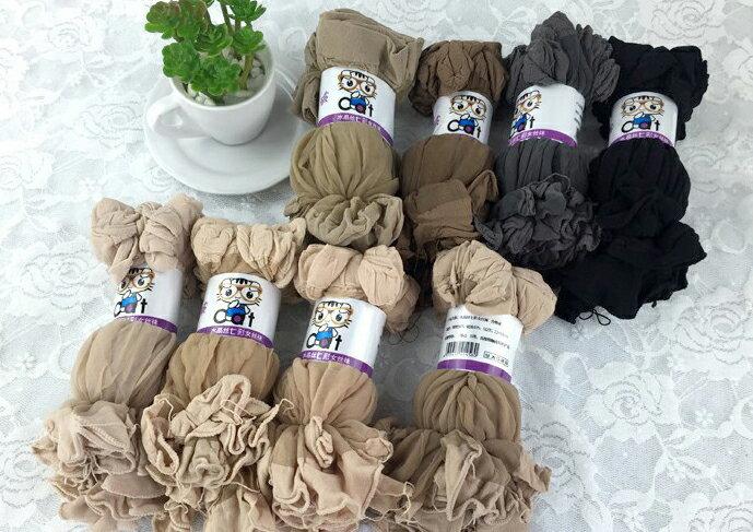 【省錢博士】春夏薄款水晶絲襪 / 女襪 / 短襪 / 十雙入59元