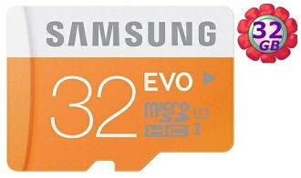 SAMSUNG 32GB 32G microSDHC【EVO 48MB/s】micro SD SDHC microSD UHS-I UHS U1 C10 原廠包裝 手機記憶卡 記憶卡