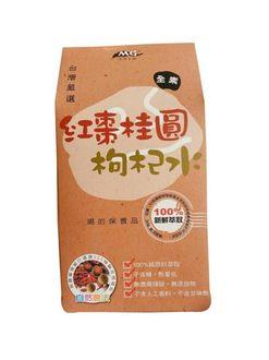 【茂格】紅棗桂圓枸杞水/80g