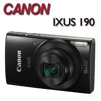 Canon數位相機推薦到【★送32G卡+專用電池+數位清潔組】Canon IXUS 190【公司貨】時尚輕薄相機就在MY DC數位相機館推薦Canon數位相機
