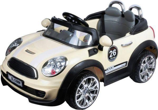 親親 Mini 電動車(紅色、米色) RT-D1688【德芳保健藥妝】兒童學步車.滑步車.碰碰車.助步車