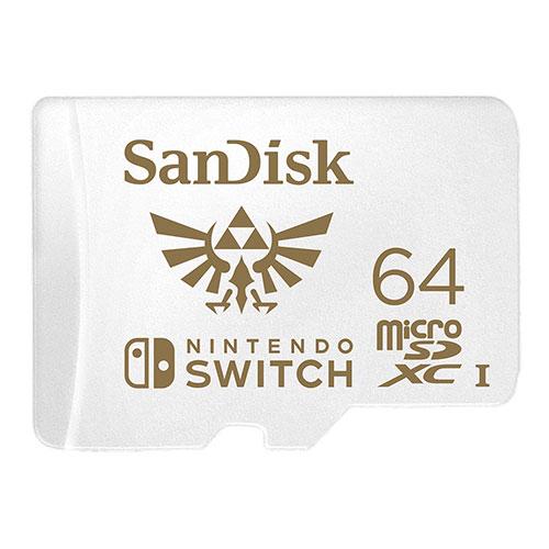 Sandisk Nintendo SWITCH 專用 microSDXC 記憶卡-64GB【愛買】