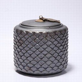 【陶瓷茶葉罐-古樸光陰-大號-150-190g-1套/組】陶瓷密封茶葉儲物罐 瓷罐 原創陶瓷 復古鐵釉,多款可選-7501027