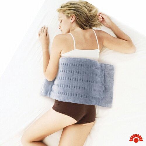銀元氣屋:【銀元氣屋】銀髮族專用三樂事暖暖熱敷柔毛墊毯(大)