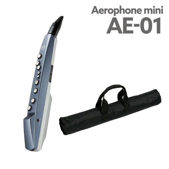 免運 Roland AE-01 Aerophone Mini 電子吹管(電子長笛、雙簧管、薩克斯風)【唐尼樂器】