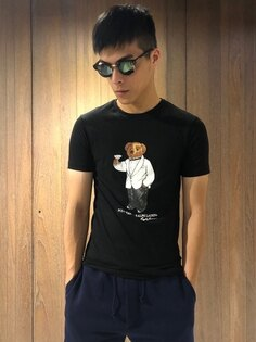 美國百分百【RalphLauren】短袖T恤RLT-shirtPolo小熊泰迪熊Bear三色J144