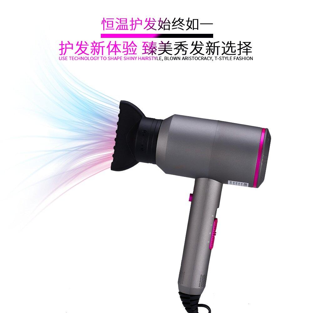 【免運快出】RESUXI錘子吹風機 冷熱吹風機 110V吹風機 吹風筒 1800W大功率 負離子護髮電吹風  七色堇 新年春節送禮