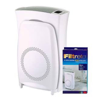 【3M】淨呼吸超濾淨型10坪負離子空氣清淨機(加碼再送濾網x1)
