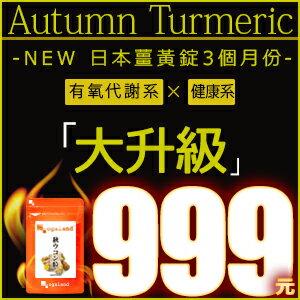 薑黃錠 (鬱金)日本進口保健食品【3個月份】 代謝