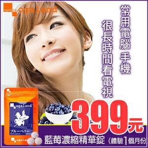 藍莓 藍莓錠 【約1個月份】日本進口保健食品 到期日 2017年5月9日
