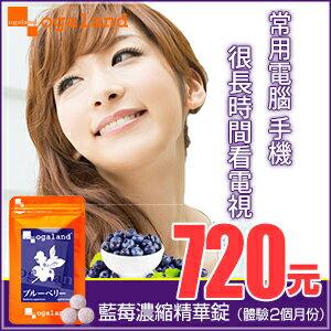 藍莓 藍莓錠 【共2個月份】日本進口保健食品 到期日 2017年5月9日