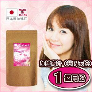 膠原蛋白粉(3g×30小包) +日本人氣低卡飲品 順暢青汁【約1個月份】 日本進口保健食品