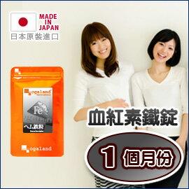 鐵 血紅素鐵錠 (鐵質) 【約1個月份】日本進口保健食品