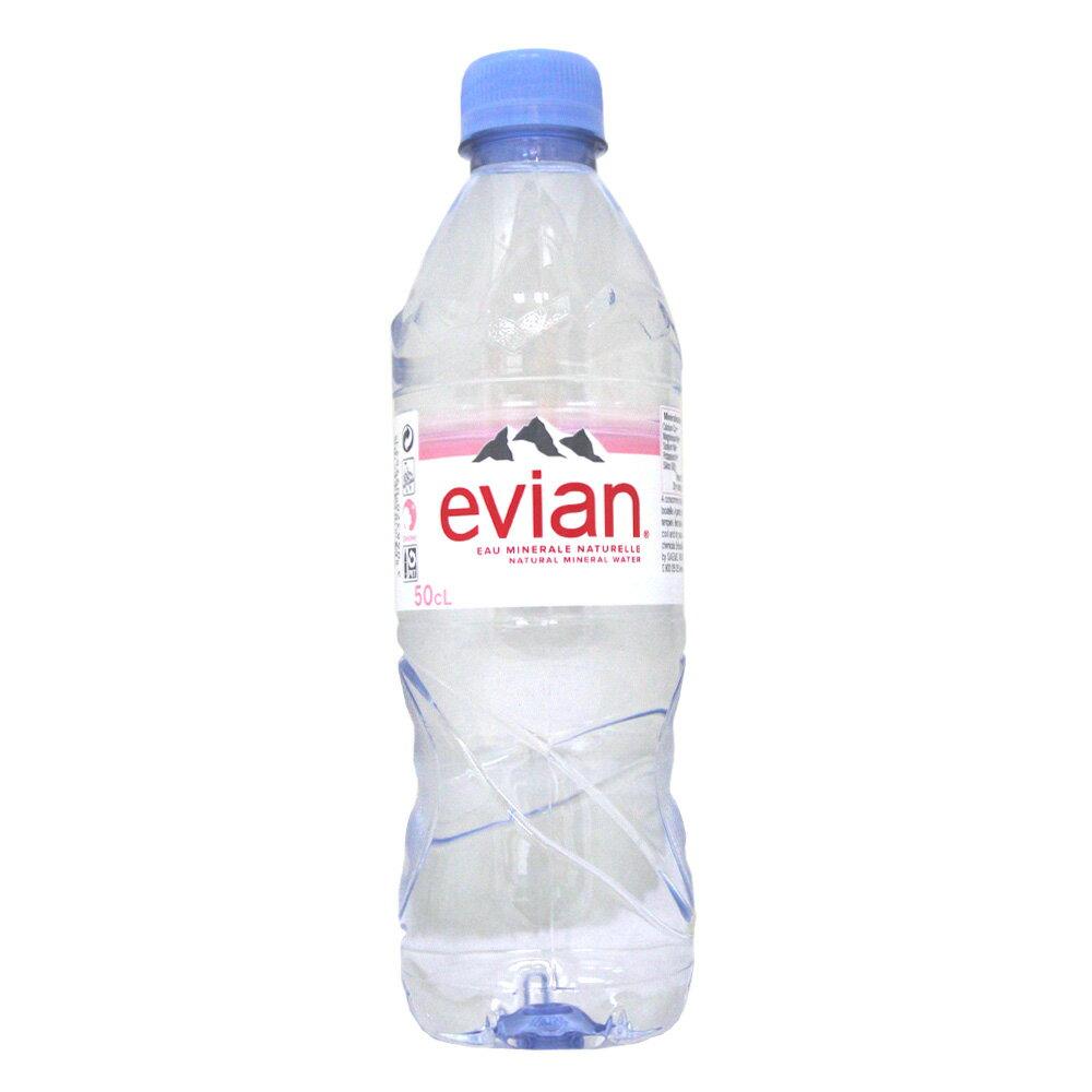 evian天然礦泉水(500ml x 24瓶) #99651