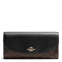 COACH F54022 新品女式長款兩件套薄款錢夾