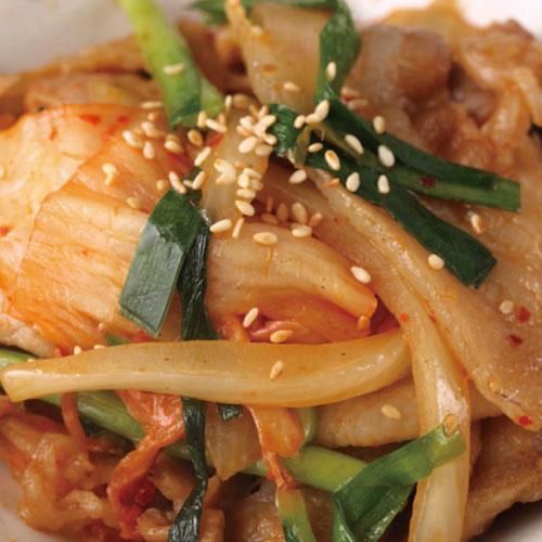 茶美豬日式泡菜豬肉 1