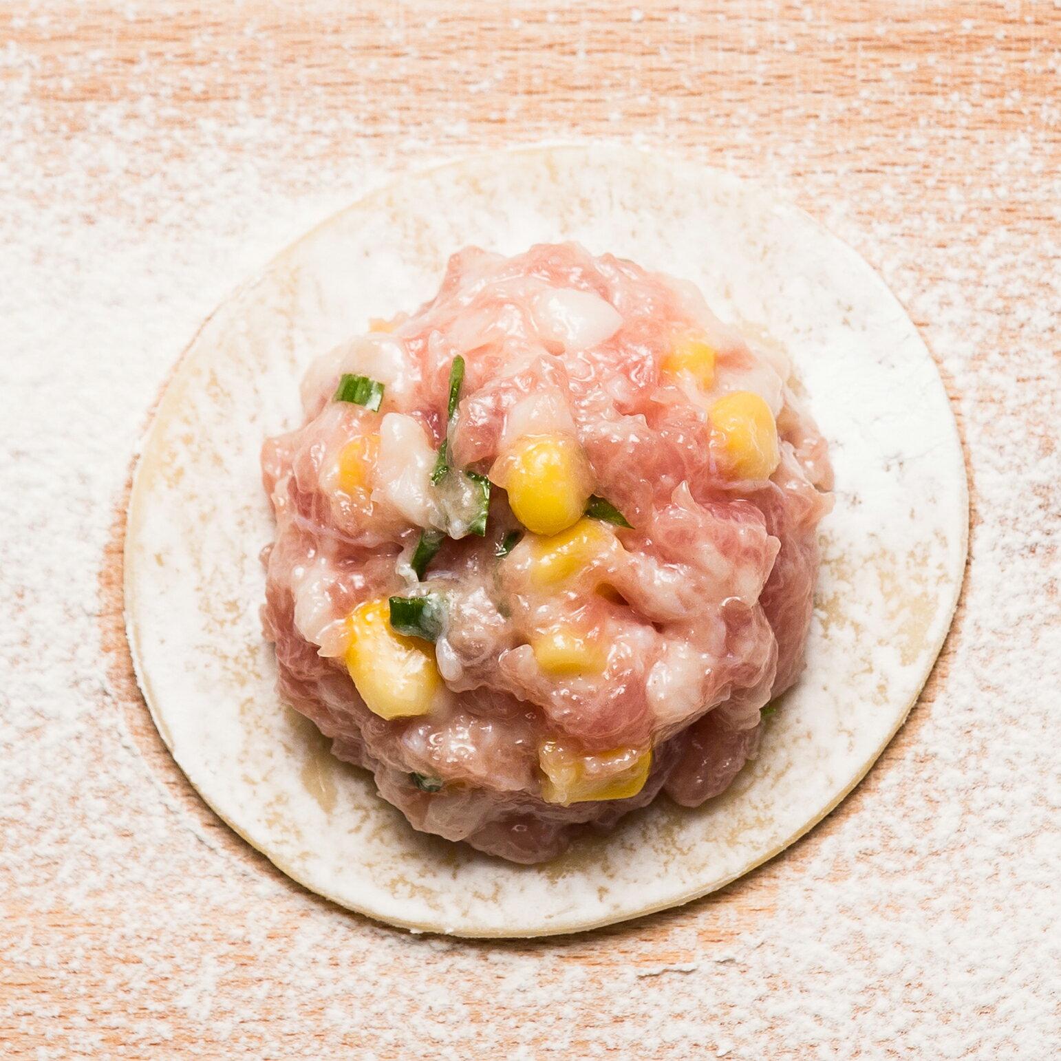 ★朱記手工水餃★玉米鮮肉水餃★鮮甜可口★每盒20入★ 4