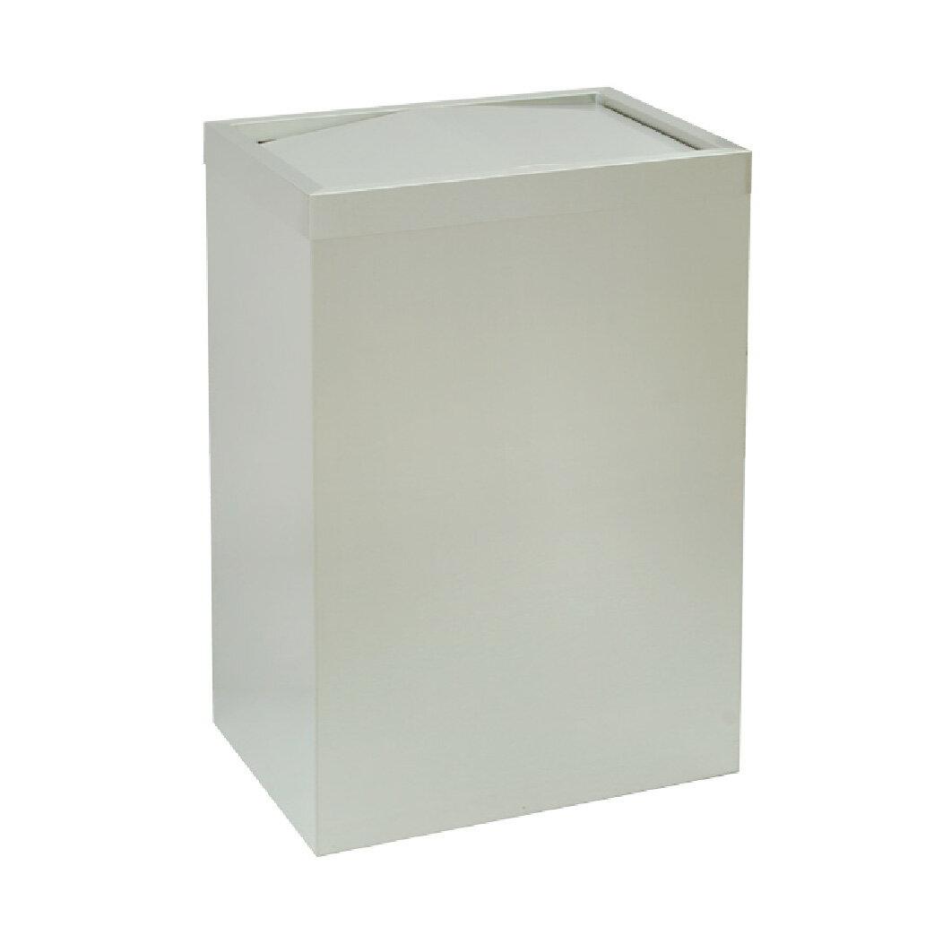 不鏽鋼搖擺式垃圾桶(無內桶) :TH-403060S: 回收桶 分類桶 清潔 廚餘桶 環保