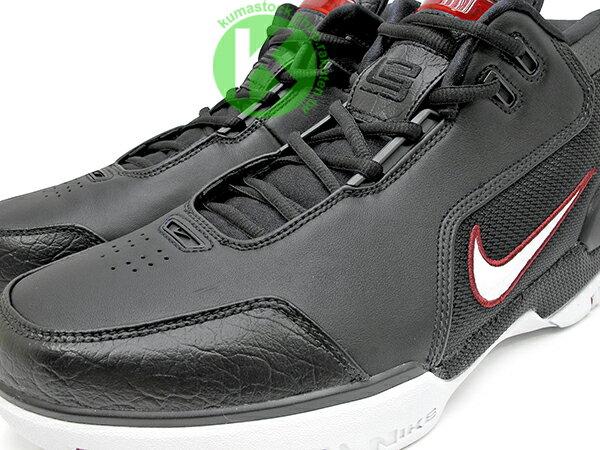 2017 小皇帝 LeBron James 限量復刻 NIKE AIR ZOOM GENERATION QS 黑白紅 NBA 第一雙代言鞋款 H2 悍馬車 KING'S ROOK (AJ4204-001) ! 2