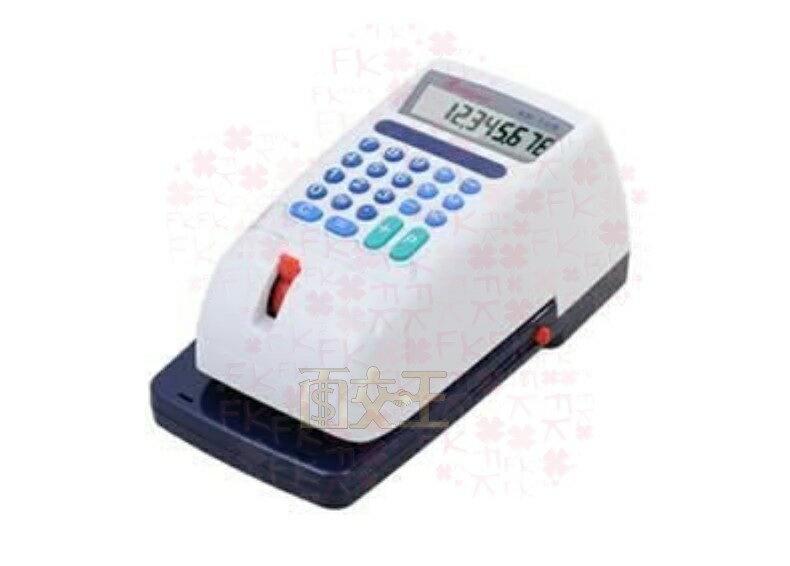 【尋寶趣】立光 KRONE 微電腦支票機 中文視窗 十位數四式演算 中文國字大寫支票機 傳票 提款單 KR-168