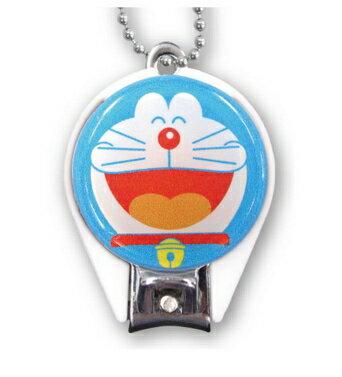 【真愛日本】17122300005 日本製圓形指甲剪-DR大笑 哆啦a夢 Doraemon 小叮噹 美甲 指甲刀