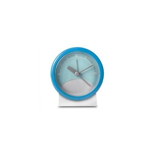 Generic Stand Up Analog Alarm Clock (Blue/White)