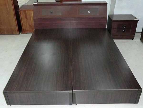 【尚品傢俱】312-01 羅美 胡桃2尺床頭櫃/收納櫃/置物櫃