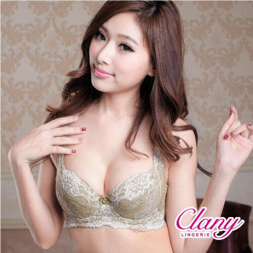 【可蘭霓Clany】雙色花卉蕾絲CD內衣 華麗紫 6236-93 4