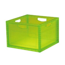 【nicegoods】透彩巧拼收納箱-單入 (塑膠 整理箱 儲物 樹德)