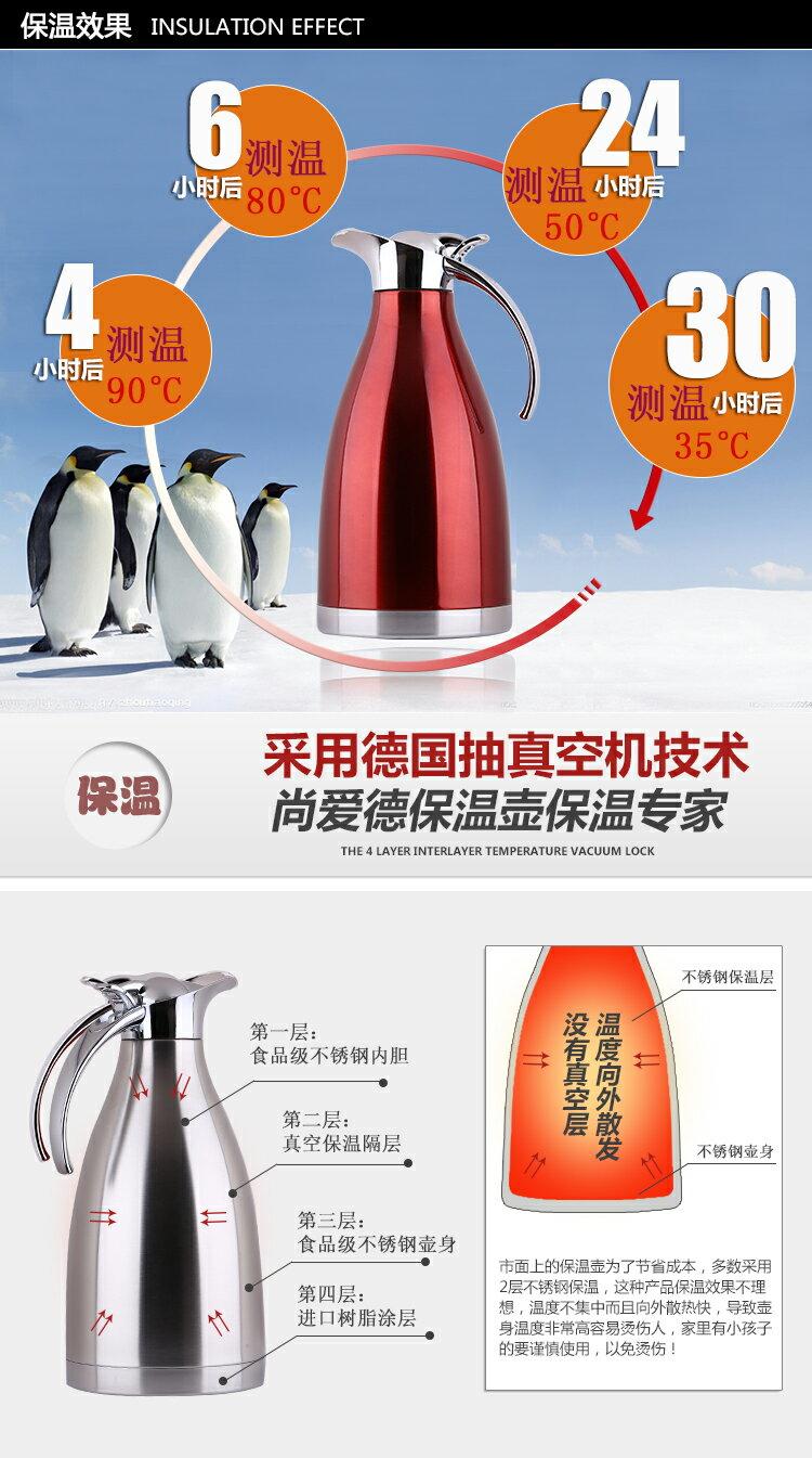 保溫壺家用304不銹鋼保溫水壺保溫瓶暖瓶歐式熱水瓶暖壺