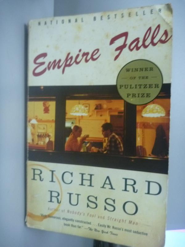 【書寶二手書T1/原文小說_IKI】Empire falls_Russo, Richard