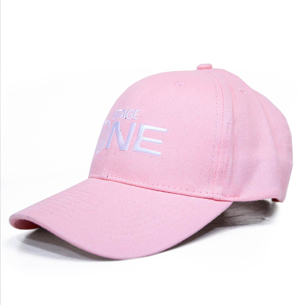 STAGEONE SMILE BASEBALL CAP 黑色 / 紅色 / 粉紅色 三色 2