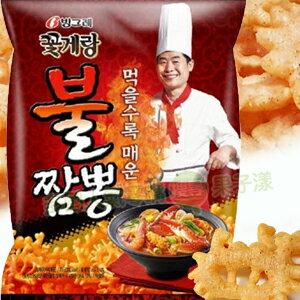 韓國 炒碼麵風味螃蟹餅乾 [KR235] - 限時優惠好康折扣